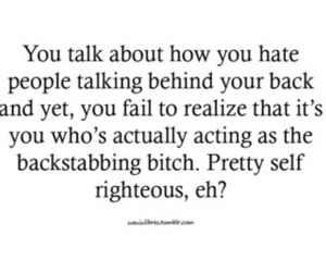 quotes, backstabbing, and bitch please image