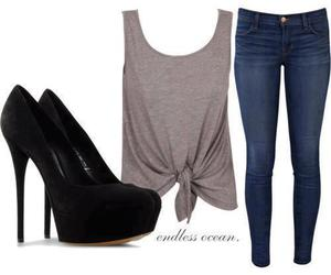 clothes, jeans, and moda image