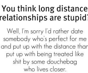 love, Relationship, and long distance image