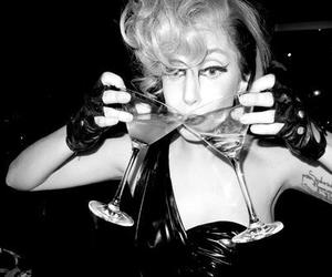 Lady gaga, drink, and mother monster image