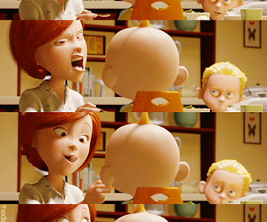 The Incredibles, mother, and disney image