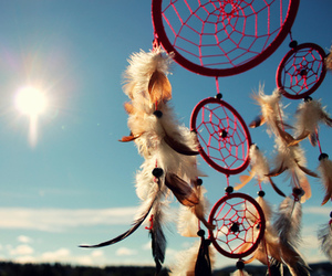 beautiful, Dream, and dreamcatcher image