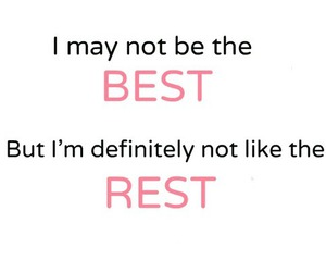 Best, quote, and rest image