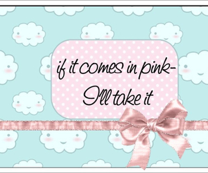 comment, pink, and pretty image