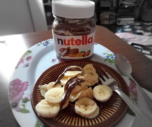 candy, nutella, and eat image