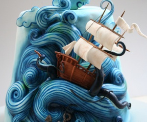 cake and ocean image