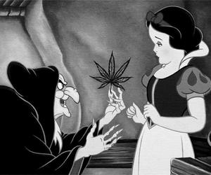 snow white and weed image
