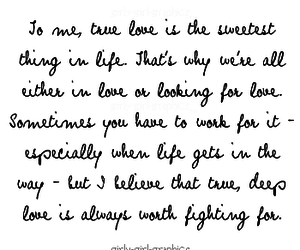 fighting, love, and forever image