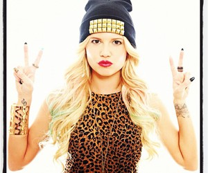 blonde, girl, and chanel west coast image