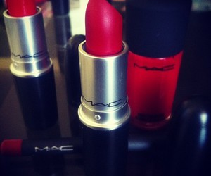 lipstick, mac, and red image