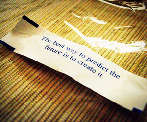 fortune cookie and future image