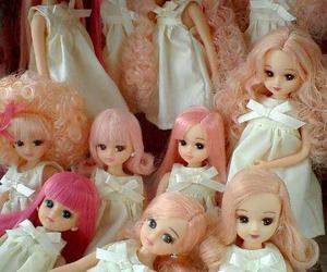 doll and pink hair image