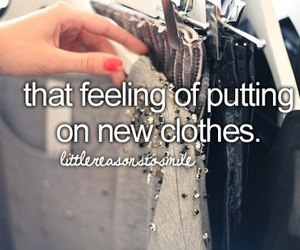clothes, new, and quote image