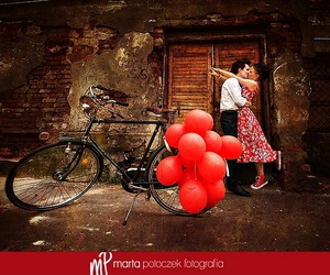 balloon, bicycle, and color image
