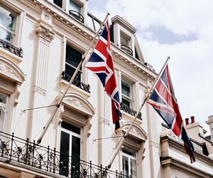 london, flag, and england image