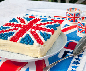 cake, london, and england image