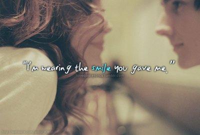 Couple Love Quote Smile Inspiring Picture On Favim Com