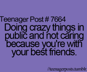 teenager post, crazy, and quote image