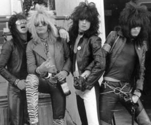 motley crue, rock, and black and white image
