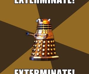 Dalek, daleks, and doctor who image