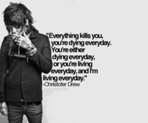 christofer drew, quote, and nevershoutnever image