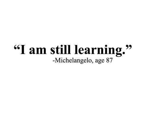 quote, learning, and words image