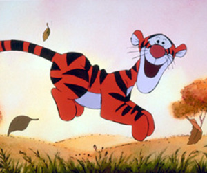 disney, tigger, and tiger image