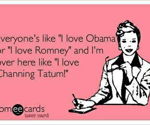 channing, funny, and obama image