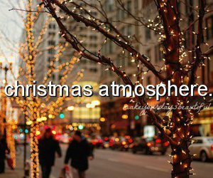 christmas, lights, and atmosphere image