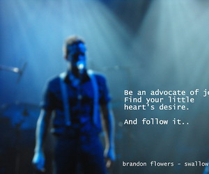 brandon flowers, desire, and Dream image