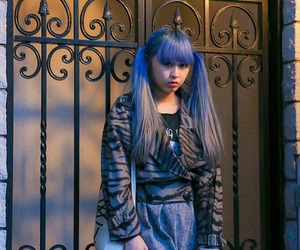 aoi, dyed hair, and fashion image