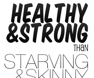 healthy, strong, and fitness image