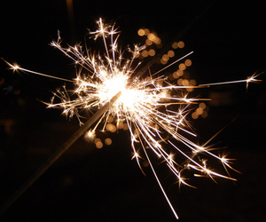 firework, photography, and sparkler image