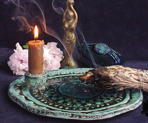 candle, magic, and mystic image