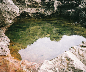 cave, vintage, and green image