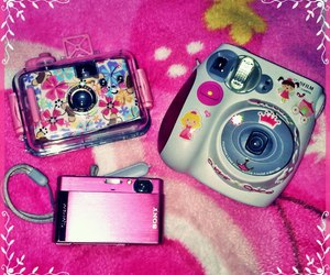 fujifilm, instax, and pink image