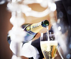 luxury, champagne, and moet image