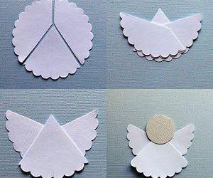 angel, diy, and christmas image