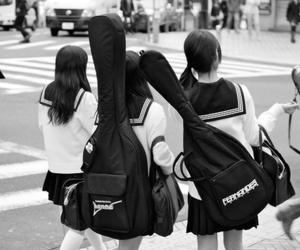 girl, guitar, and japan image
