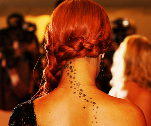 rihanna, tattoo, and stars image