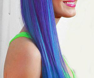 hair, katy perry, and smile image
