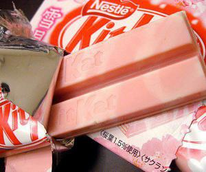 pink, kit kat, and kitkat image