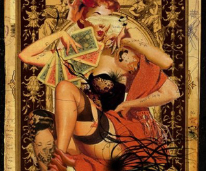 Collage, illustration, and pin-up image