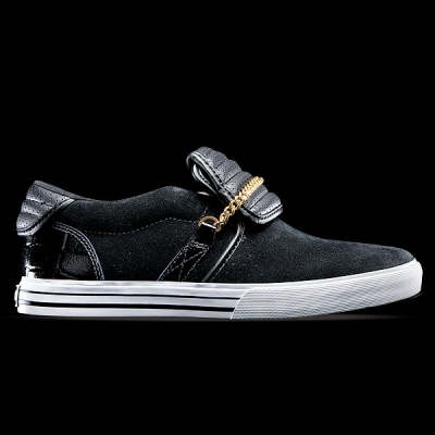 black, sneakers, and supra image
