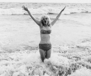 60s, ocean, and marilyn image