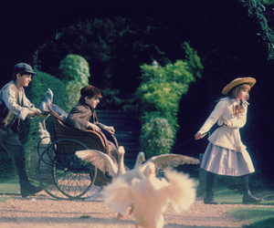 The Secret Garden, movie, and vintage image