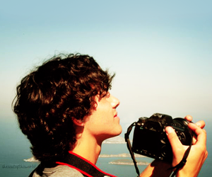 camera, boy, and Joe Jonas image