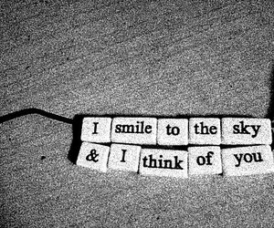 sky, smile, and love image