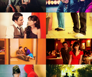 couple, new girl, and nick miller image