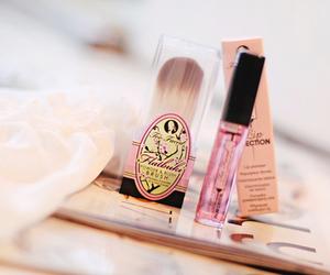 pink, make up, and pastel image